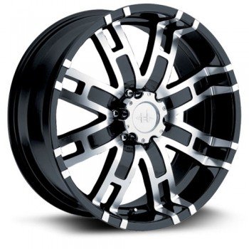 Helo Wheels HE835, Noir Machine/Machine Black, 17X8, 6x139.7 ( offset/deport 0), 106
