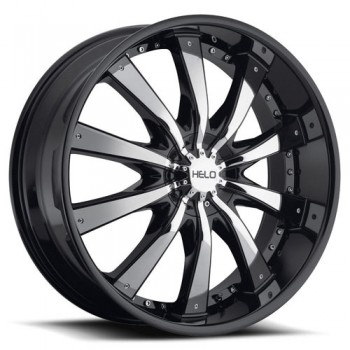 Helo Wheels HE875, Chrome Noir/Chrome Black, 22X9.5, 6x135/139.7 ( offset/deport 38), 106