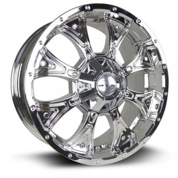 RTX Wheels Taurus, Chrome, 20X9, 5x135/139.7 ( offset/deport 15), 87.1