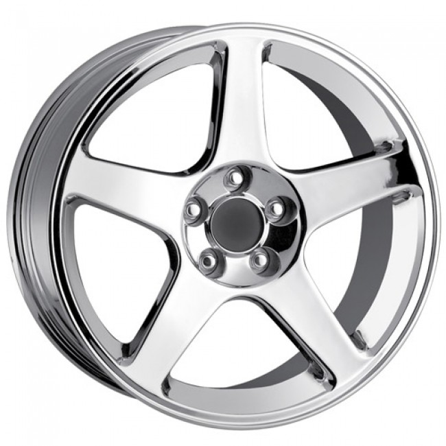 Detroit  815, Chrome wheel
