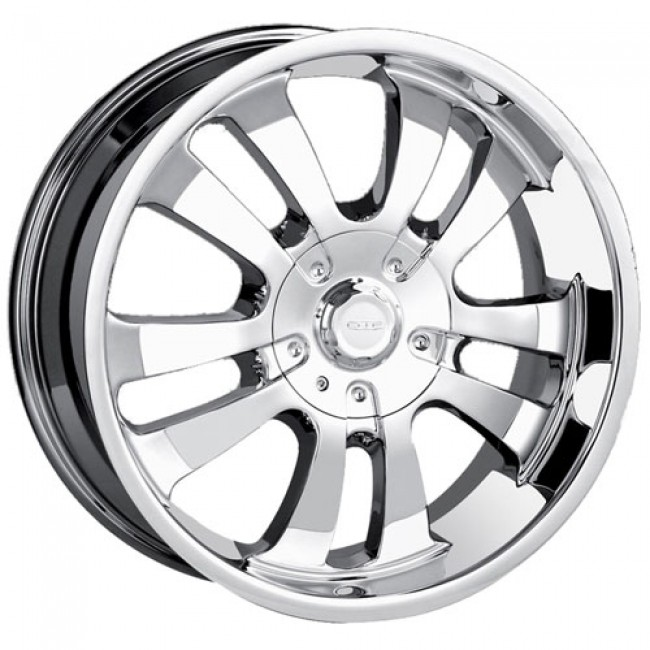 Dip D10, Chrome wheel