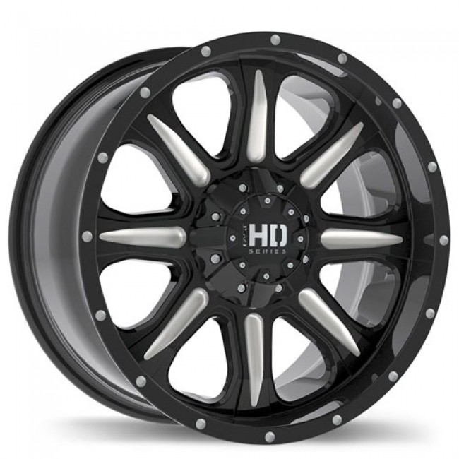 Fastwheels C4, Machine Black wheel