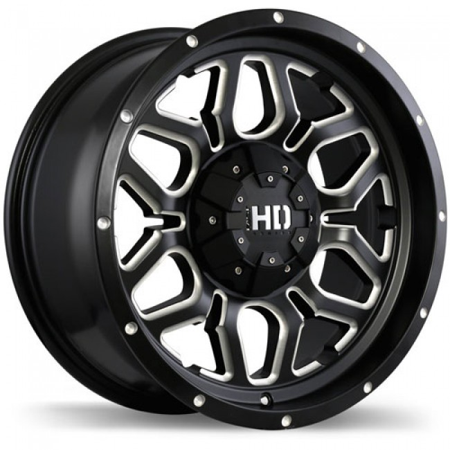Fastwheels Rigg, Matte Black wheel