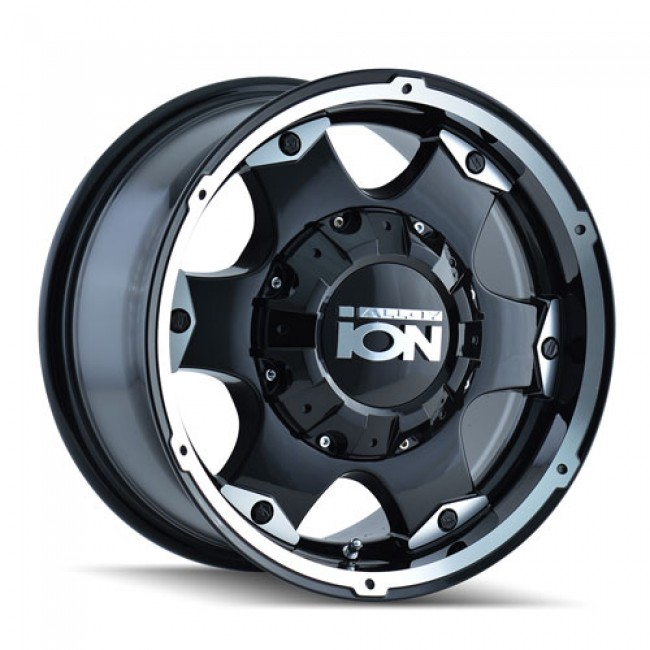Alloy Ion 194, Machine Black wheel