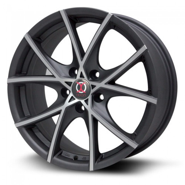 RTX Wheels IX004, Machine Black wheel