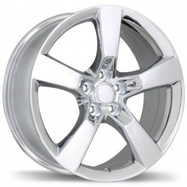 Replika Wheels R129A, Chrome wheel