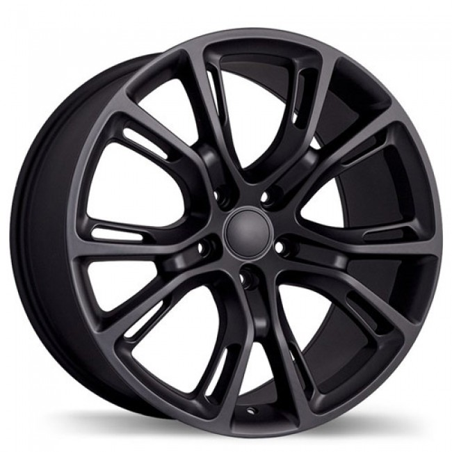Replika R148A Matte Black/Noir mat, 20X10.0, 5x127 , (offset/deport 50 )Jeep
