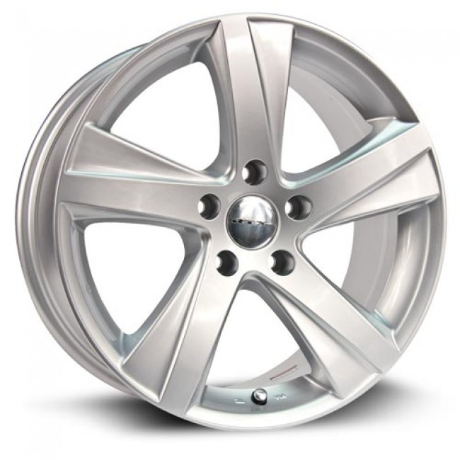 RTX Wheels Akina, Silver wheel