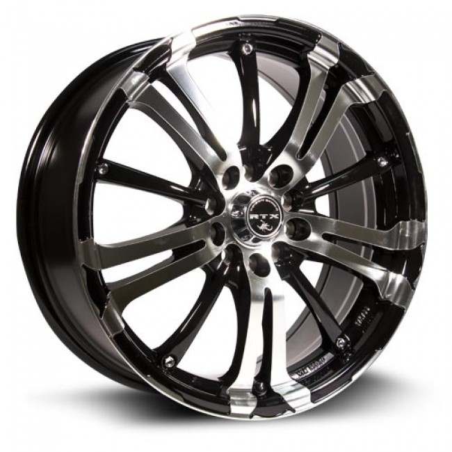 RTX Wheels Arsenic, Machine Black wheel