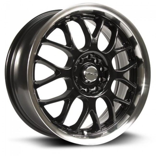 RTX Wheels Euro, Machine Black wheel