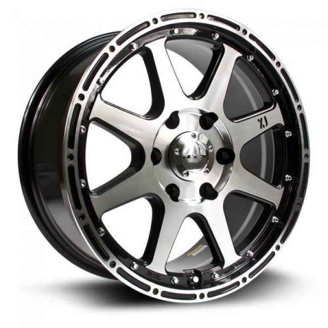 RTX Wheels Granite, Machine Black wheel