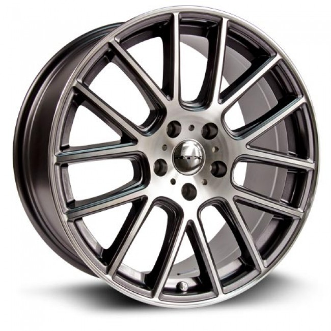 RTX Wheels Milan, Machine Gunmetal wheel