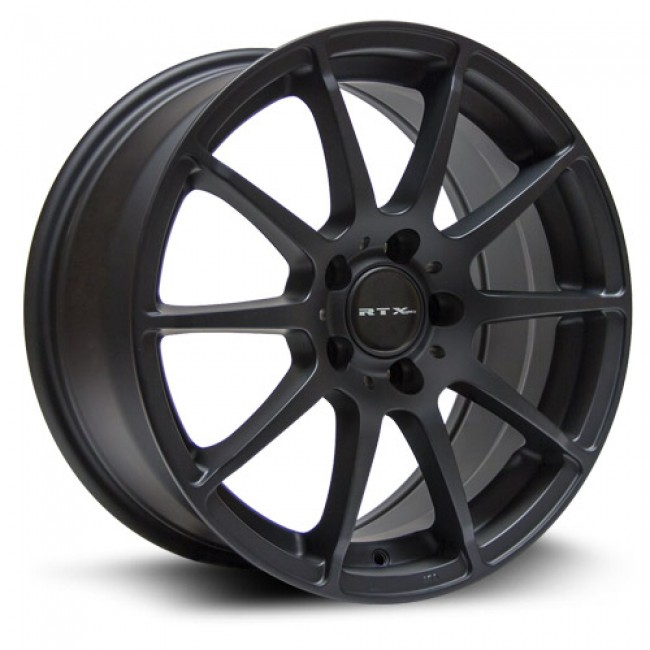 RTX Wheels Munich, Matt Black Machine wheel