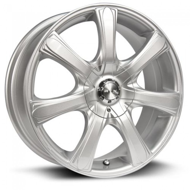RTX Wheels S7, Argent/Silver, 17X7, 5x110/114.3 ( offset/deport 42), 73.1