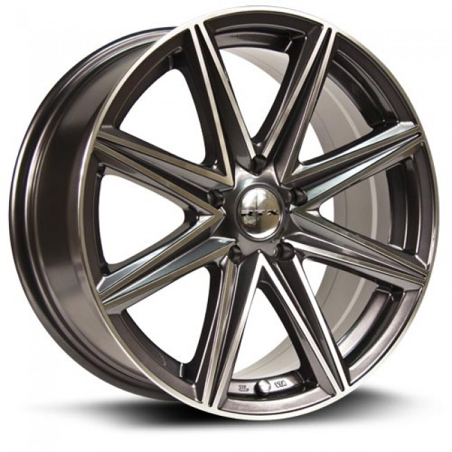 RTX Wheels Spur, Machine Gunmetal wheel