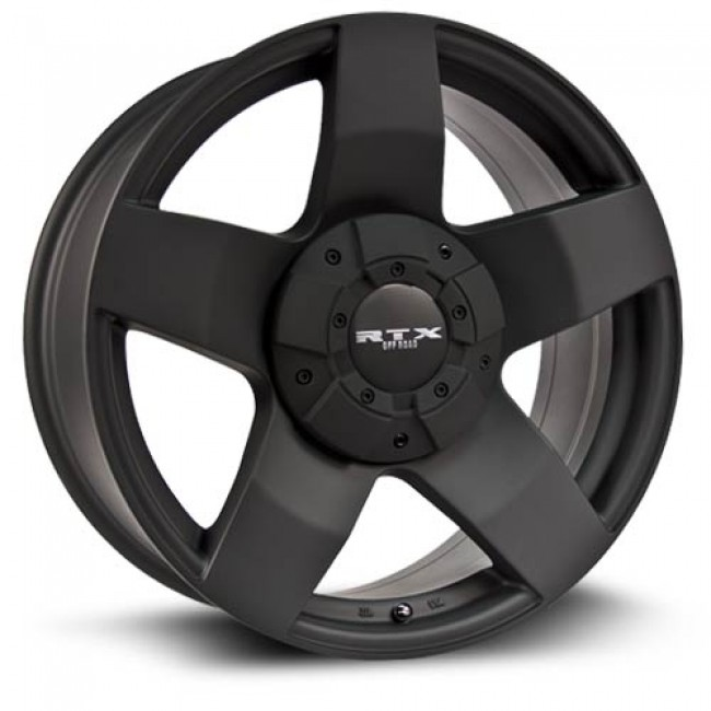RTX Wheels Thunder, Matte Black wheel