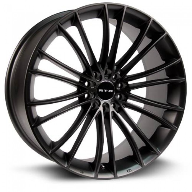 RTX Wheels Turbine, Noir/Black, 19X8.5, 5x112/114.3 ( offset/deport 45), 73.1
