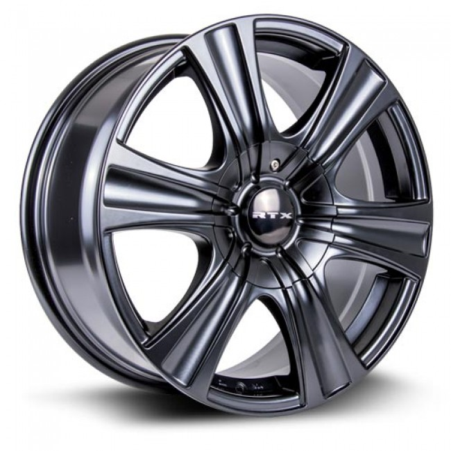 RTX Wheels Aspen, Satin Black wheel