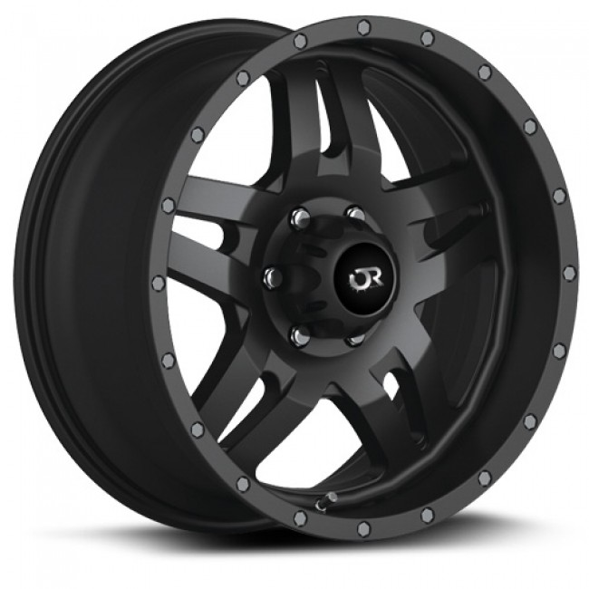 RTX Wheels Mesa, Satin Black wheel