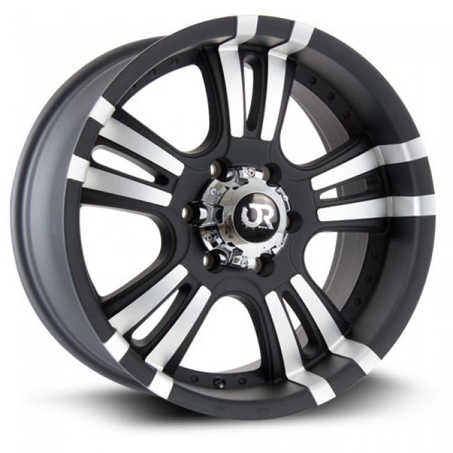 RTX Wheels ROAR II, Machine Black wheel