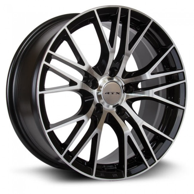 RTX Wheels Vertex, Machine Black wheel