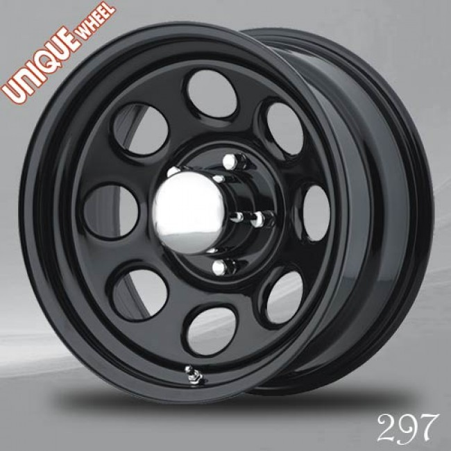 Unique Wheel 297, Black wheel