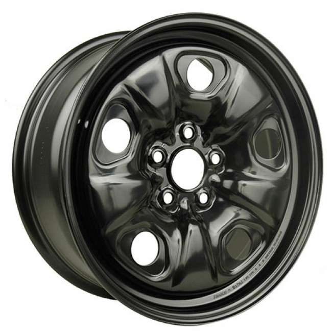 Macpek Steel Wheels, Black wheel