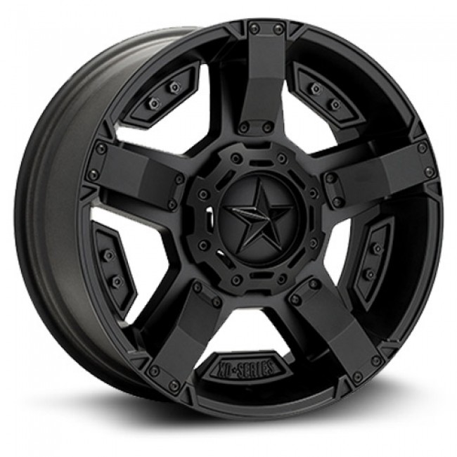 XD Series Rockstar II, Satin Black wheel