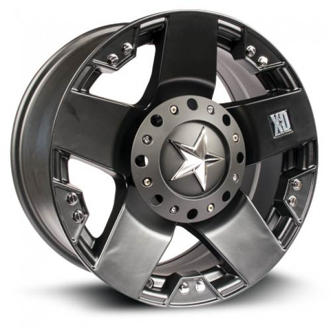 XD Series Rockstar, Matte Black wheel