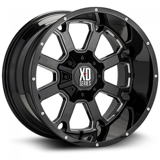XD Series Buck 25, Machine Black wheel