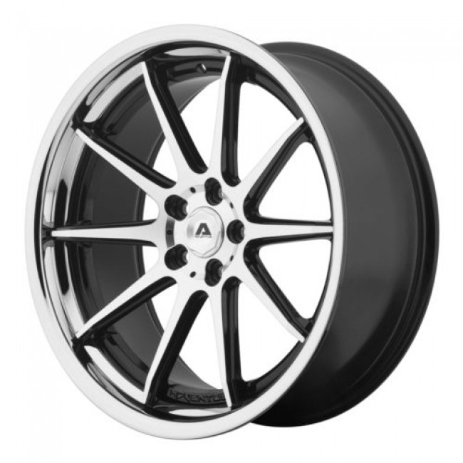 Adventus AVS-4, Gloss Black Machine wheel