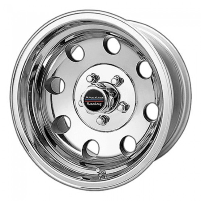 American Racing AR172 BAJA, Polished wheel