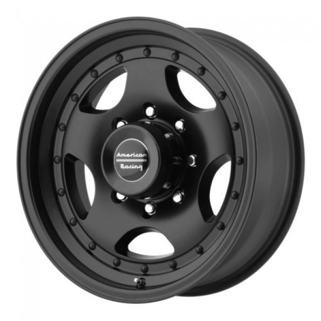 American Racing AR23, Satin Black wheel