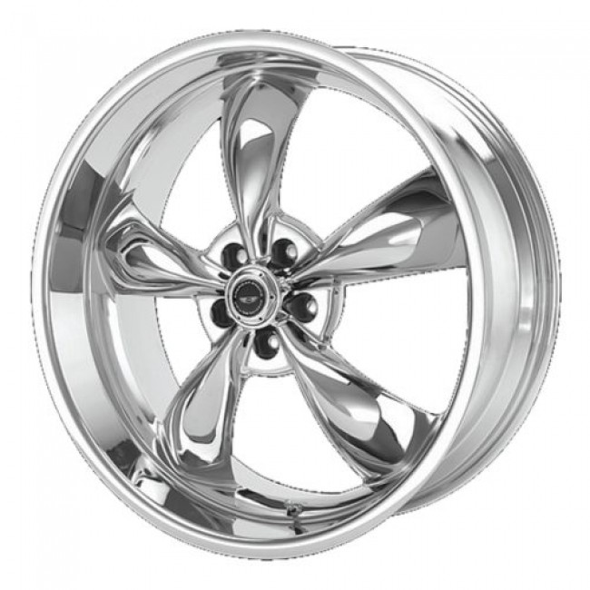 American Racing AR605 TORQ THRUST M, Chrome wheel