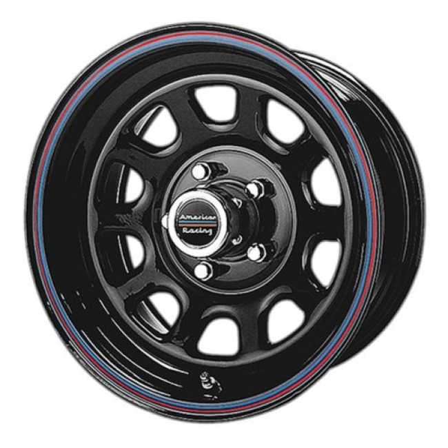 American Racing AR767, Gloss Black Machine wheel