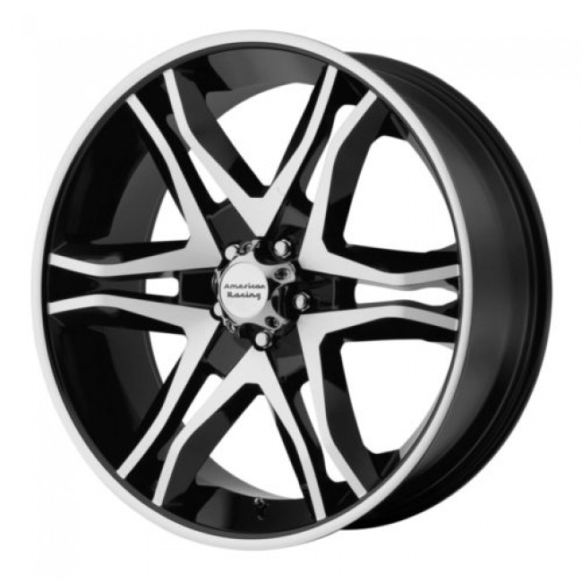 American Racing AR893 MAINLINE, Gloss Black Machine wheel