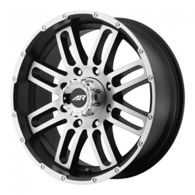 American Racing AR901, Machine Black wheel