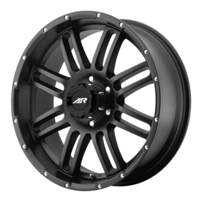 American Racing AR901, Satin Black wheel