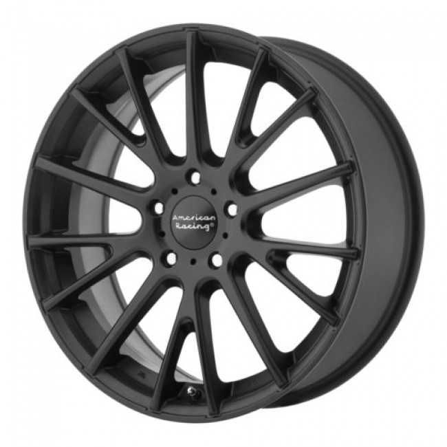 American Racing AR904, Satin Black wheel