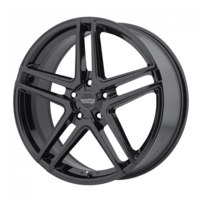American Racing AR907, Gloss Black wheel