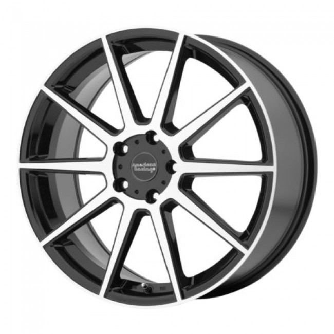 American Racing AR908, Gloss Black Machine wheel