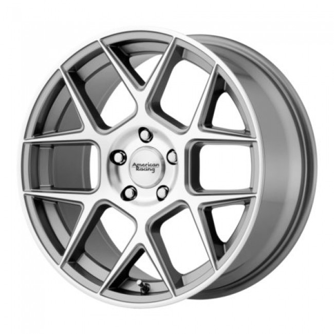American Racing AR913 APEX, Machine Gunmetal wheel