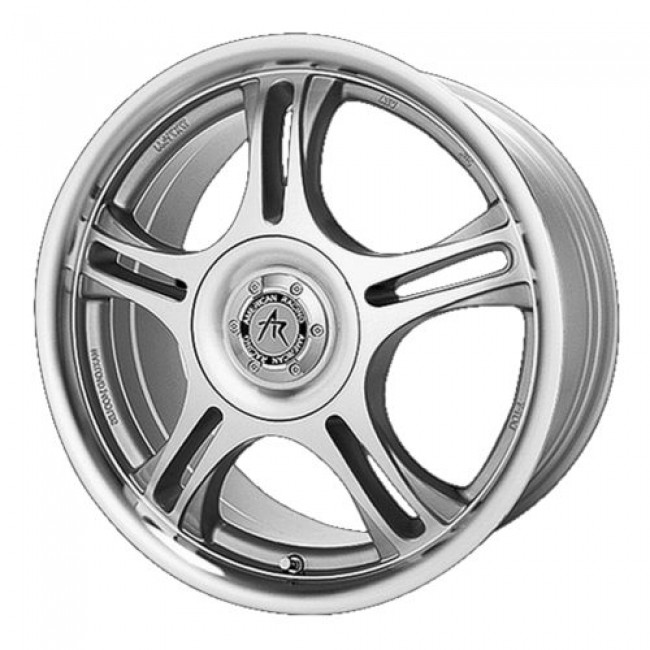 American Racing AR95 ESTRELLA, Machine Black wheel