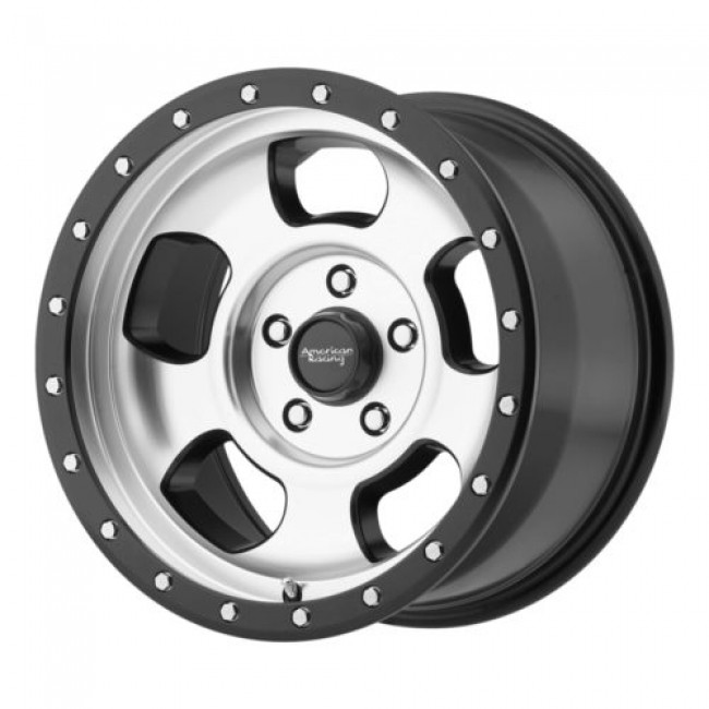 American Racing AR969 ANSEN OFFROAD, Machine Black wheel