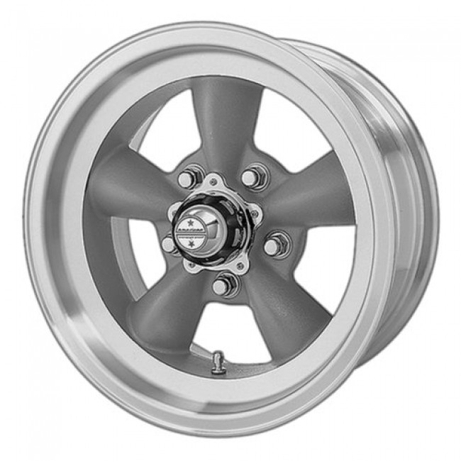 American Racing VN105 TORQ THRUST D, Dark Grey Machine wheel