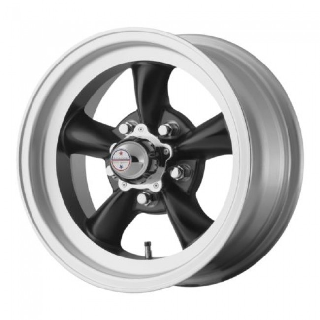 American Racing VN105 TORQ THRUST D, Machine Black wheel