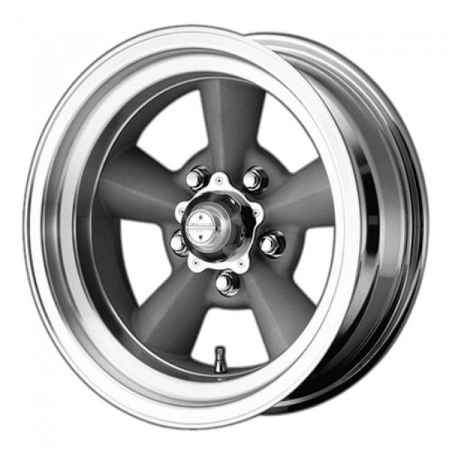 American Racing VN309 TT O, Machine Silver wheel