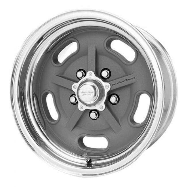 American Racing VN470 SALT FLAT, Machine Grey wheel