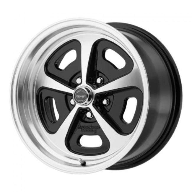 American Racing VN501 500 MONO CAST, Gloss Black Machine wheel