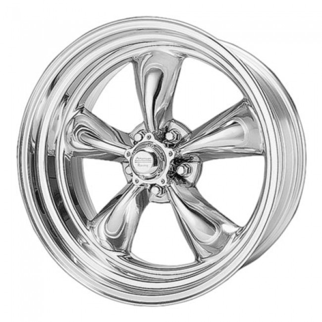 American Racing VN515 TORQ THRUST II 1 PC, Polished wheel